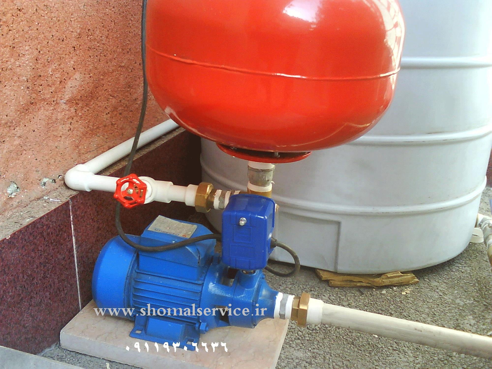 تعمیر پمپ آب در رشت